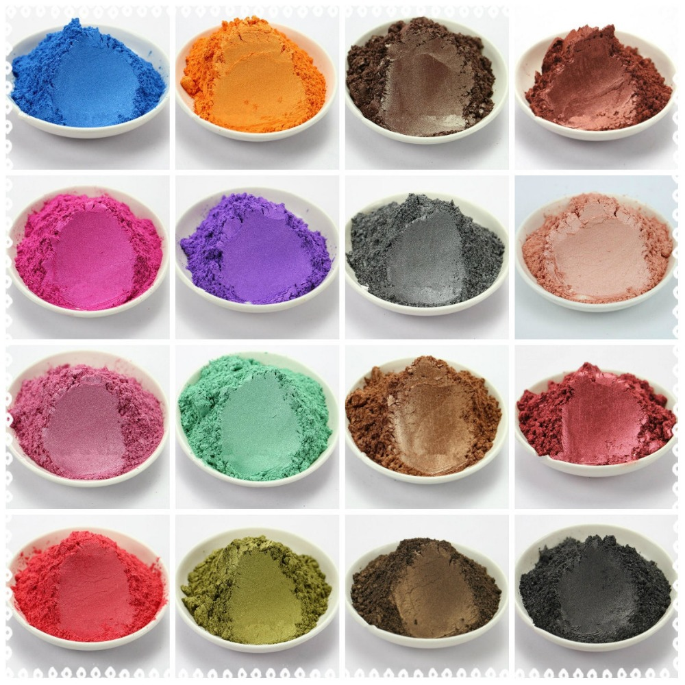 100g 20 Colors Healthy Natural Mineral Mica Powder DIY For Soap Dye Soap Colorant  makeup Soap Powder Skin Care Free Shipping<br><br>Aliexpress