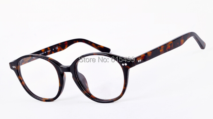 Round Eyeglasses Men Spectacles Eye Glasses Women Tortoise/Black 5193 Full rim Eyewear 2014 Fashion Optical Frames
