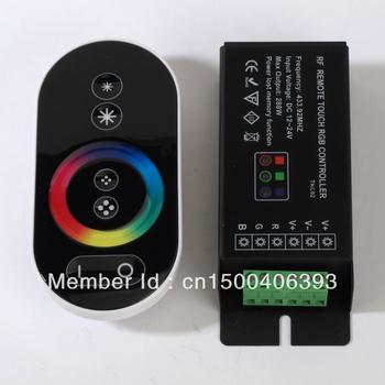 Rf touch controller+remote receiver 288w DC12v RGB led strip lighting RF Touch RGB LED Controller