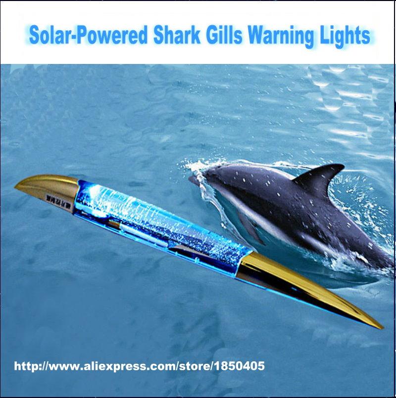 For Chevrolet Lacetti / Matiz / Nubira / Optra / Spark / Sonic / Tosca / Car Solar Shark Gill LED Anti-collision Warning Lamp