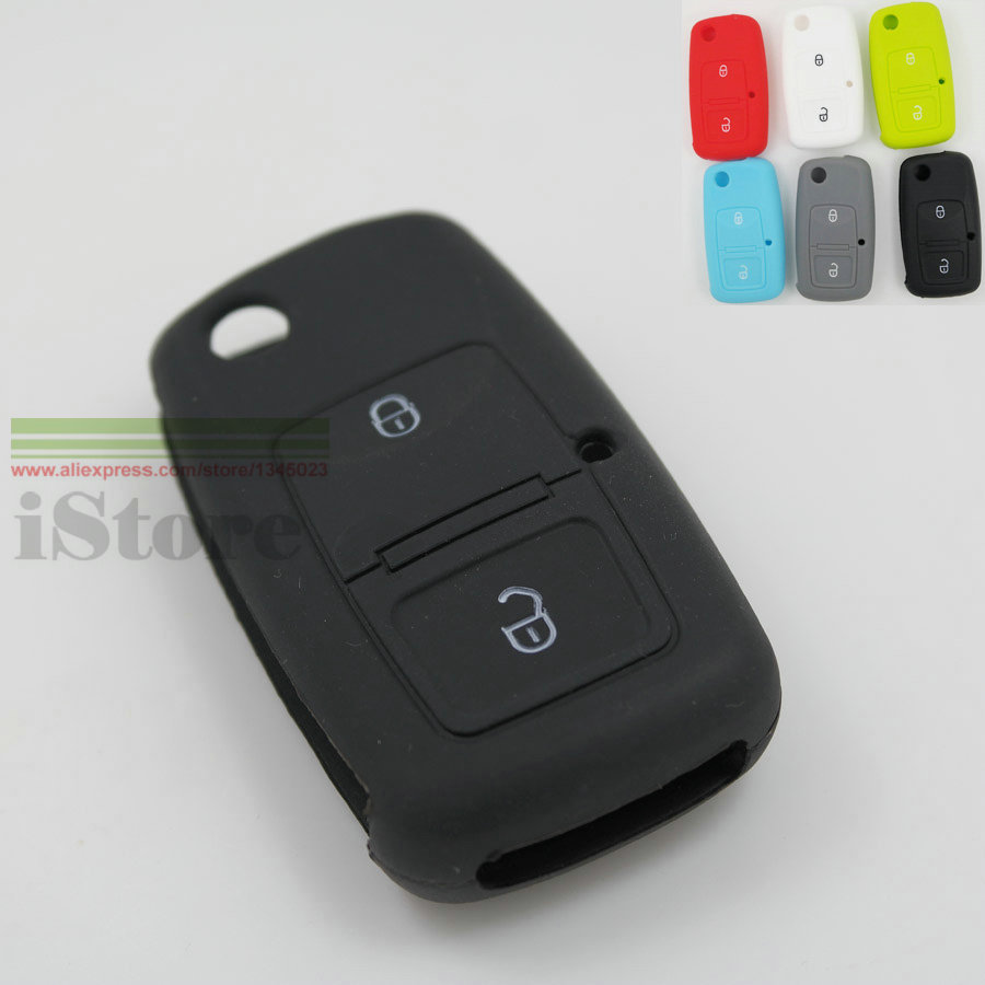 Гаджет  1pc 2 button Car Key Case cover for VW Volkswagen Golf MK4 Bora Passat Polo Touran Cady Jetta Sharan Auto Key chain holder None Автомобили и Мотоциклы