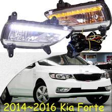 2014~2016 KIA Forte daytime light,Free ship door!LED,KIA fog light,2ps/set;kia k3;cerato - NoBonn Autoparts Co;Ltd store