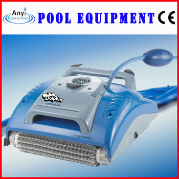 Dolphin swimming pool robot vacuum cleaner