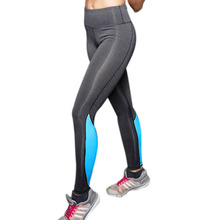 Vertvie Brands Sport Leggings Stitching High Elasticity Slimming Sports Pant Fitness Women For Running Gym Breathable Women Pant(China (Mainland))