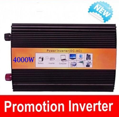 Doubel Digital Display 4000w inverter pure sinus DC AC 4000w inverter 12v 220v , 4000w inverter pure sine(China (Mainland))