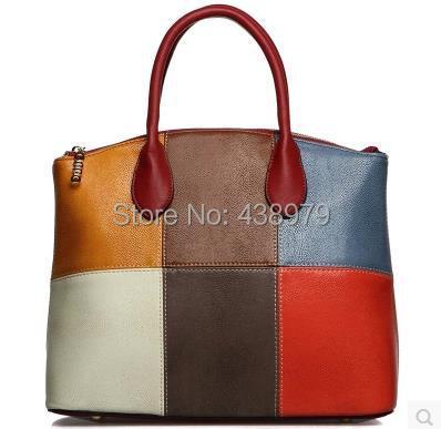 Здесь можно купить  High quality elegant panelled women handbag    Камера и Сумки