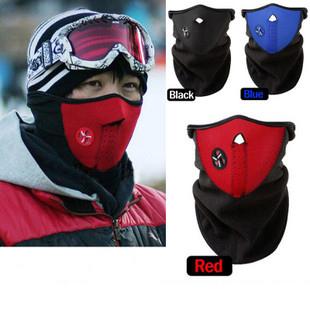 Free Shipping 10pcs/lot Neoprene Neck Warm Half Face Mask Winter Veil Guard Sport Bike Bicycle Motorcycle Ski SnowboardshenweiMA(China (Mainland))