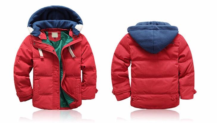 Теплая куртка для мальчика фото