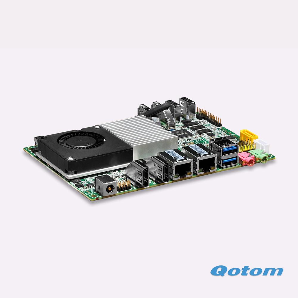 2016 New celeron 3215U Fanless ITX Nano motherboard Dual LAN wintel Linux ubuntu mainboard(China (Mainland))
