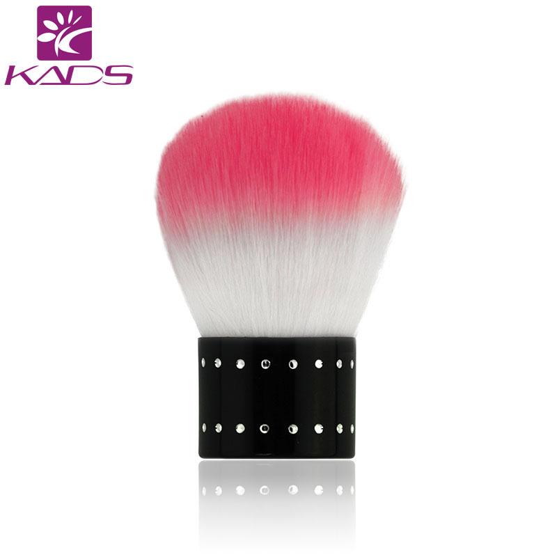 KADS Pink Rhinestone Nail Brush Acrylic Nails Pure Kolinsky round Nail Brush(China (Mainland))