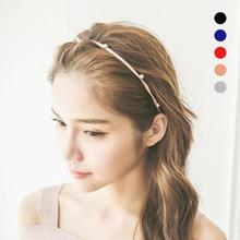 Buy Women Headbands Charming Hair Accessories Fashion Imitated Pearl Scrunchy Hair Elastic Hair Bands Hairbands Girls A0 for $1.01 in AliExpress store