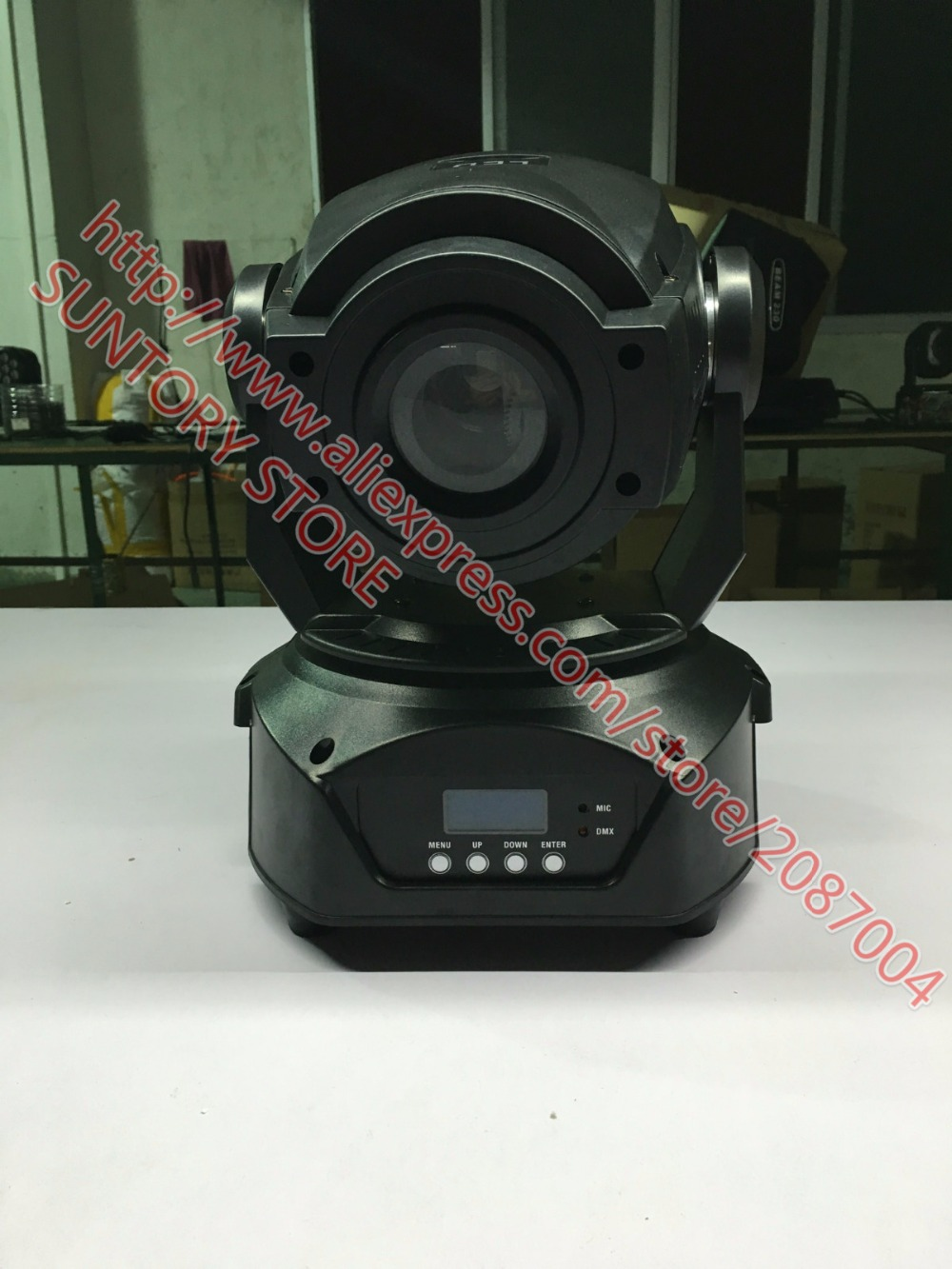 4pcs/lot lighting led dj equipment spot 90w moving head lighting(China (Mainland))