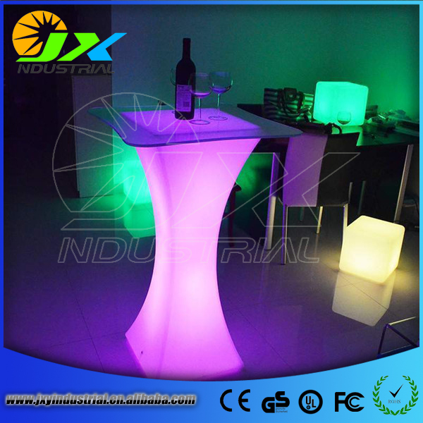 commercial LED light cocktail table for wholesale(China (Mainland))