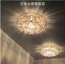 New Modern Crystal 3W LED Ceiling Light Fixture led indoor light led ceiling   light abajur lampshade(China (Mainland))