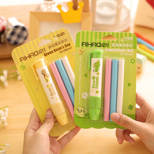Replaceable Pen Shape rubber eraser for pencil kid funny cute stationery Novelty eraser Office accessories school supplies
