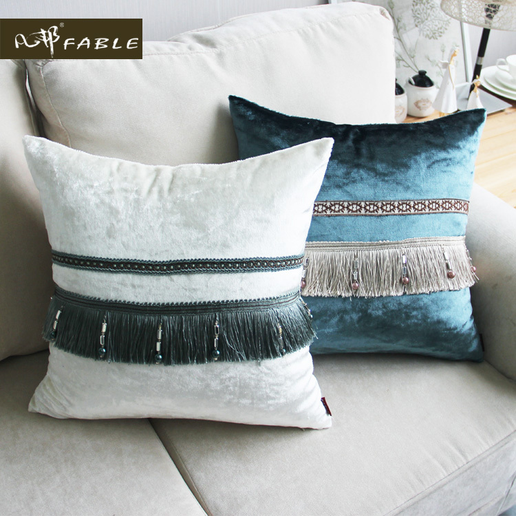 European Decorative Pillows : 2015 latest design velvet cushion European decorative pillows top grade pillow cushions home ...
