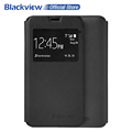 Original Blackview BV2000S Leather Case cover Good Quality Side Open PU Flip phone case cover for