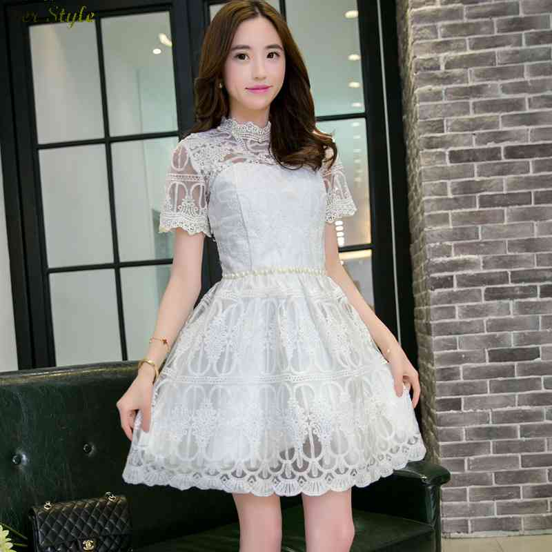Free Shipping mileage really making 2015 a new name Judy slim elegant lace dress 1430991151(China (Mainland))