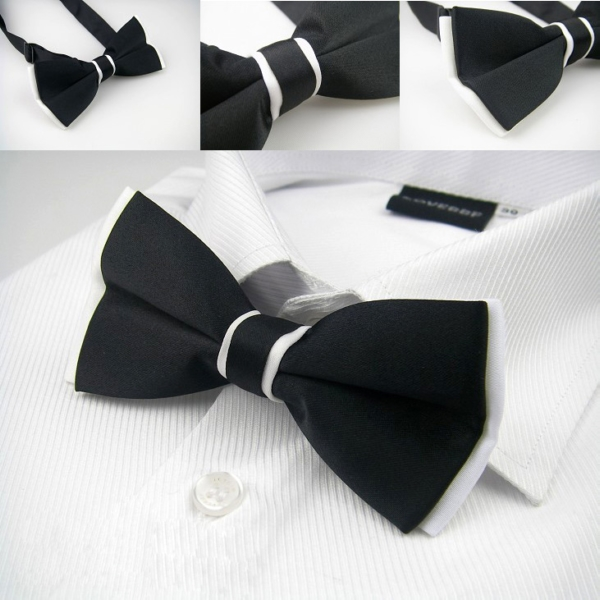 bow ties adjustable silk butterfly bow tie gift box