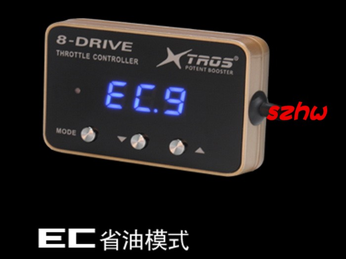 Potent Booster 6th 8-Drive Electronic Throttle Controller, Ultra-thin, AK-709, Dedicated for HONDA new FIT, CITY