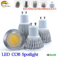 Lampada LED Lamp Spotlight 9W 12W 15W E27 GU10 Bombillas LED Light Bulb AC 110V 220V Aluminum Dimmable Ultra Bright Spot Lights(China (Mainland))