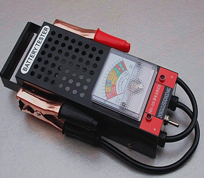 12 Volt Battery Tester Review : New battery load tester amp type v