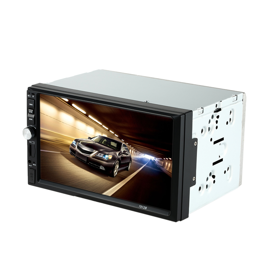 In Dash 2 Din HD 7'' Touch Screen Car Radio Stereo Player Bluetooth MP3 Car Autoradio MP5 Player Rear View Camera Interface(China (Mainland))