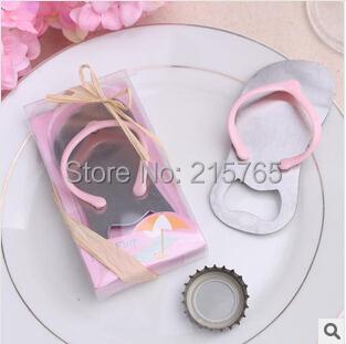 "Wedding Favors ""Pop Top"" Flip-Flop Pink Bottle Opener+100sets/LOT++Lowest Price - Fashion wedding products co., LTD store"