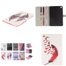 Buy TX Fashion Painting Cover PU Leather Case apple iPad Mini 4 Mini4 7.9'' Tablet Flip Book Style Stand Card Holder for $8.90 in AliExpress store