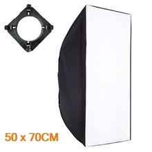 50x70cm Softbox Reflector+Universal Mount for Studio Flash Photo Studio Soft Box Photography Accesorios Fotografia Light Box