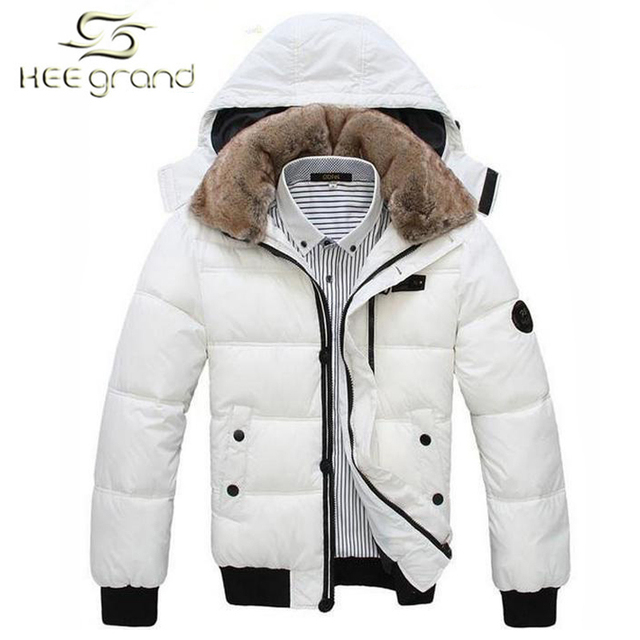 Men Down Coat Men's Coat Winter Overcoat Outwear Winter jacket  Hooded Thick Fur Outdoor  MWM001