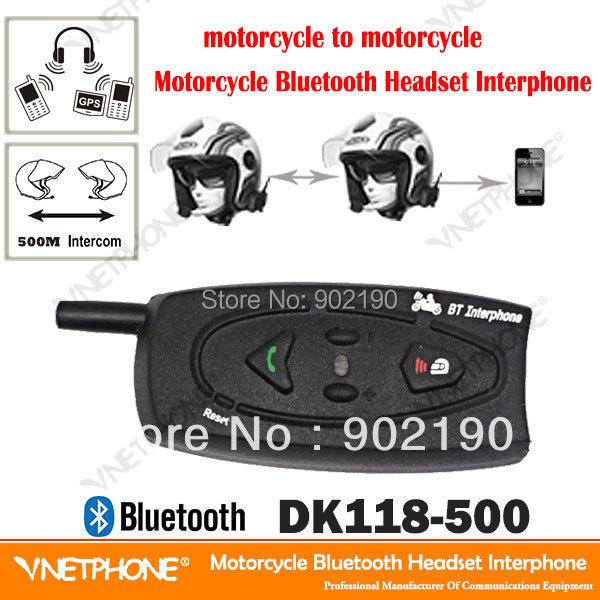 Old Version Mini USB Jack 500m wireless motorcycle helmet Intercom bluetooth intercom Real Two-way walkie talkie - Shenzhen Netphone Technology Co., Ltd. store