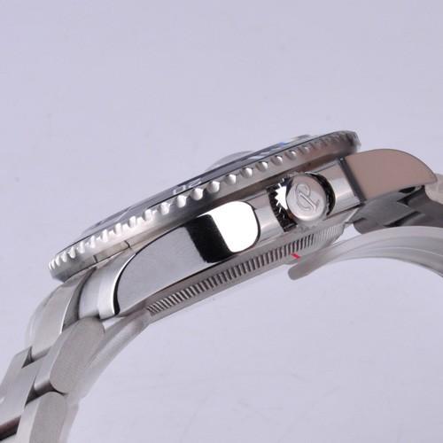 Бесплатная доставка 40 мм Парнис Керамическая Рамка Световой Марка Стиль Автоматическая Мужские Часы PA4001SS