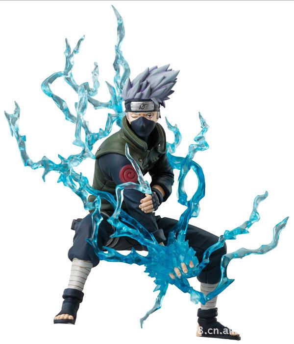 16cm Naruto Ninja Hatake Kakashi Lightning Action Figures font b Anime b font PVC brinquedos Collection