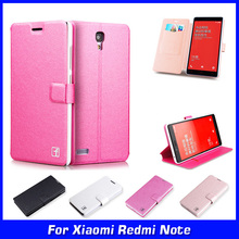 Luxury Ultra Thin Wallet Flip PU Leather Case Cover Xiaomi Redmi Note 4G LTE 3G 5.5 inch Cell Phone Shell Back - shenzhen yida Technology Co.,LTD. store