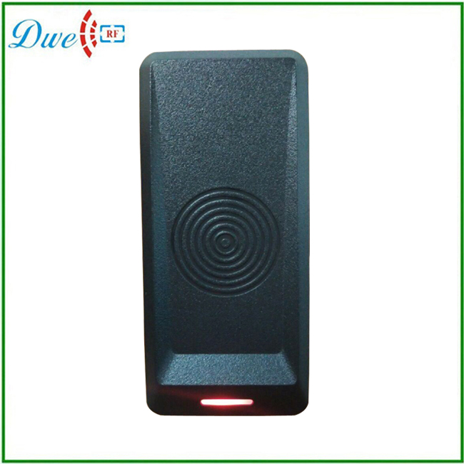 small size black color plastic waterproof 125khz weigand passive rfid reader for access control system<br><br>Aliexpress