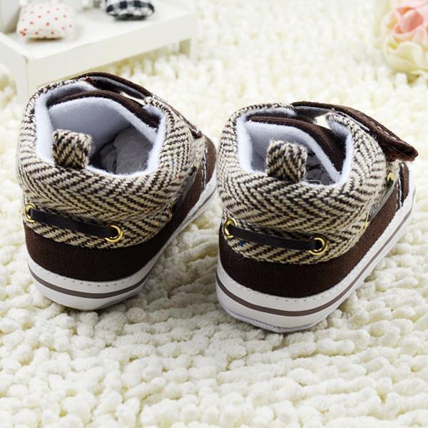 Cute Toddler Baby Boys Girls Cotton Crib Shoes Soft Sole Prewalker Casual Sneaker <br><br>Aliexpress