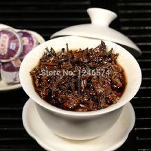 50pcs Spring Glutinous tea Rice Flavor Green Premium Compressed Mini Puer Tea Weight Loss Menghai Famous