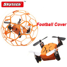 Football Protective Mini RC Quadcopter ST-70 VS Eachine H1 2.4GHz 4 Channel 6 Axis Gyro airplane RTF remote control drone toys