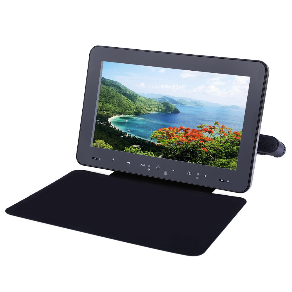 XD9909 9 Inch Universal Car Headrest DVD Player 800 x 480 LCD Screen Backseat Monitor with Digital Technique Super-slim Design(China (Mainland))
