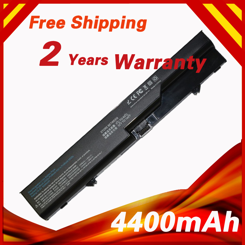 4400mAh Laptop Battery For HP ProBook 4320s 4321s 4325s 4420s 4421s 4425s 4520s 4525s 420 425
