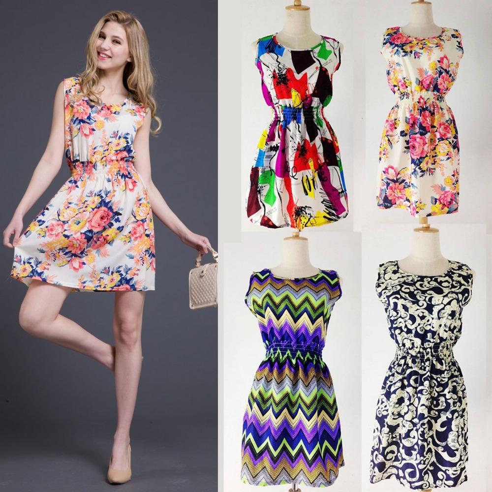 Фасоны модных летних платьев