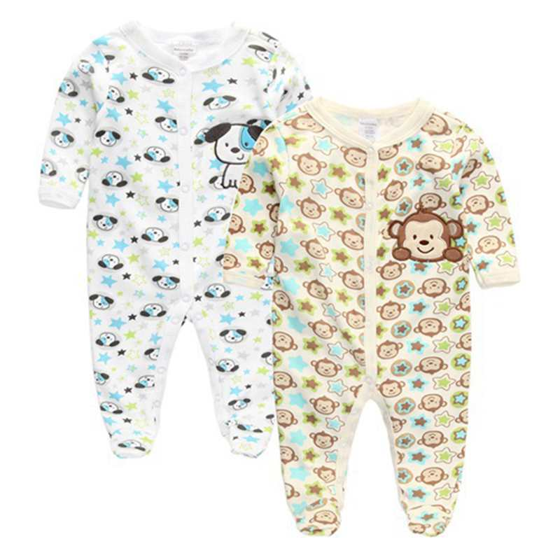 Baby Girl Rompers Clothing Baby Girl's Pajamas Romper Newborn Feet Cover Sleepwear Infant Body suits One-piece Clothes(China (Mainland))