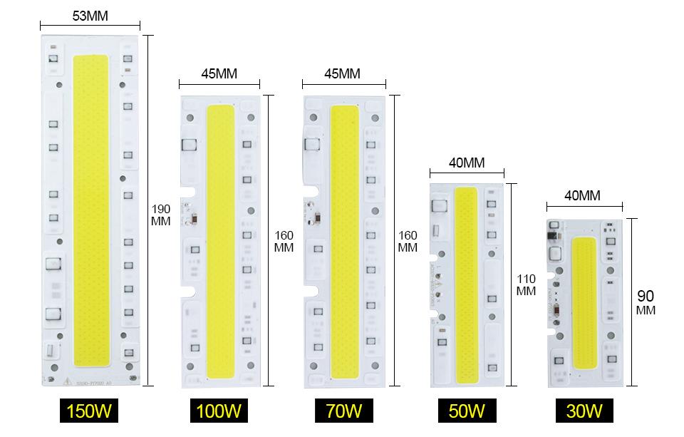 LED Matrix chip lamp (7)