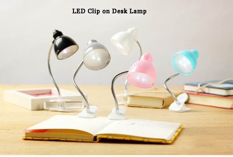 Mini Clip on book Light LED Light Reading Lamp LED eye protection Reading Lights