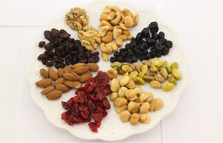 1 Piece Best Choice Delicious Good Tasty Blended Nuts Cashew Hazelnut Walnut Pistachio Cranberry Portable Chinese Leisure Snacks(China (Mainland))