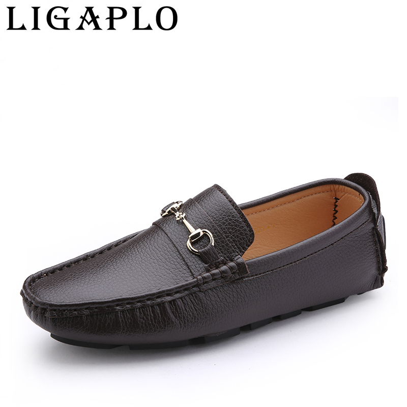 new 2016 s leather mocassin driving shoes
