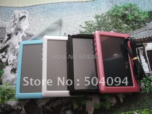 """New portable 4GB 4.3"""" TFT Touch Screen MP3 MP4 MP5 Player FM Radio TV out Colorful For Choose(China (Mainland))"""