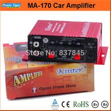 Popular Amplifier Car Kit Speaker Car Amplifier Stereo Hi-Fi Mini Digital Power Amplifier for Car MP3 DVD Input 2 Channels(China (Mainland))