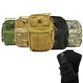 5 Colors 600D Molle Tactical Utility 3 Ways Shoulder Sling Pouch Backpack Chest Bag Camera Video